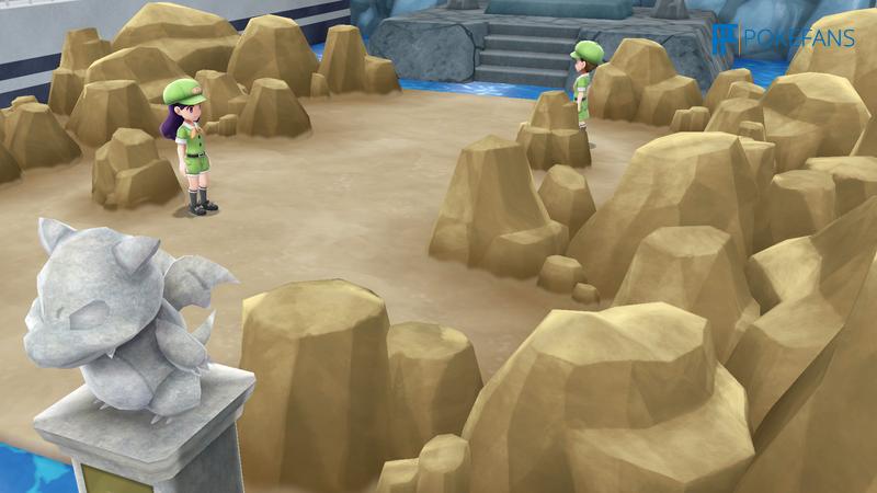 Screenshot aus Let's Go, Pikachu und Evoli!
