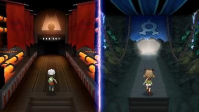 Im Versteck von Team Aqua / Team Magma