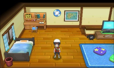 Brix in seinem Zimmer