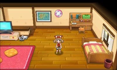 Maike in ihrem Zimmer