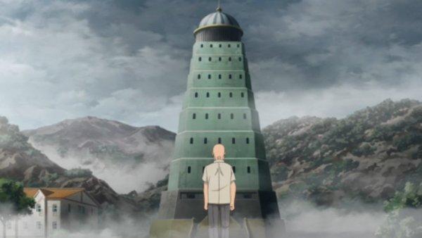 Mr Fuji geht zum Pokémonturm