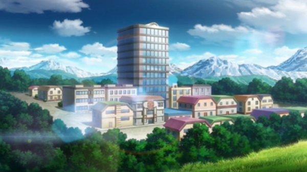 Saffronia City