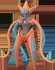 Deoxys Angriffsform In Pokémon Go