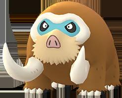 Mamutel In Pokémon Go