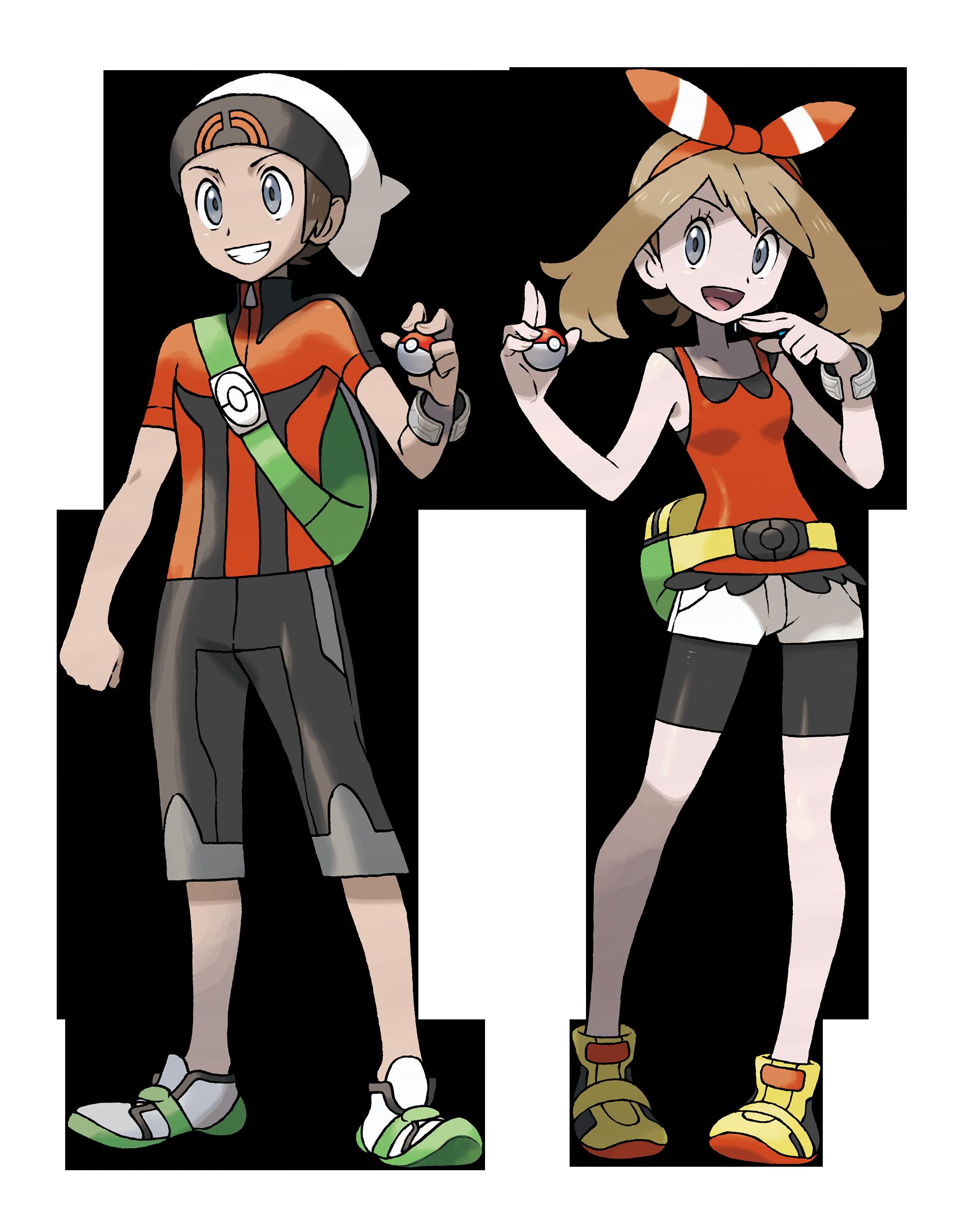 Die Protagonisten Brix und Maike