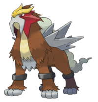 Entei Artwork