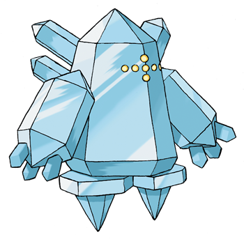 Regice Artwork