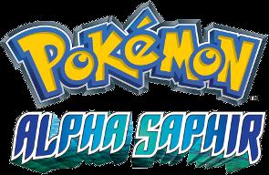 Logo von Pokémon Alpha Saphir