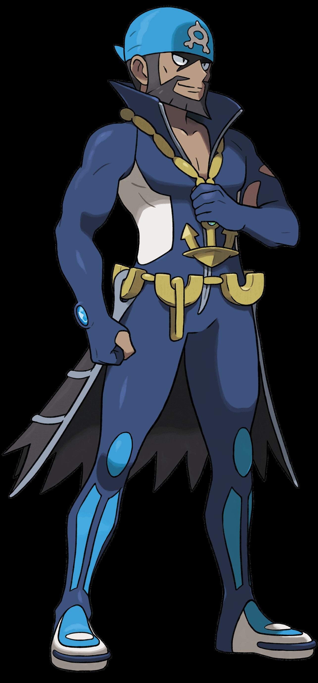 Adrian, Boss von Team Aqua