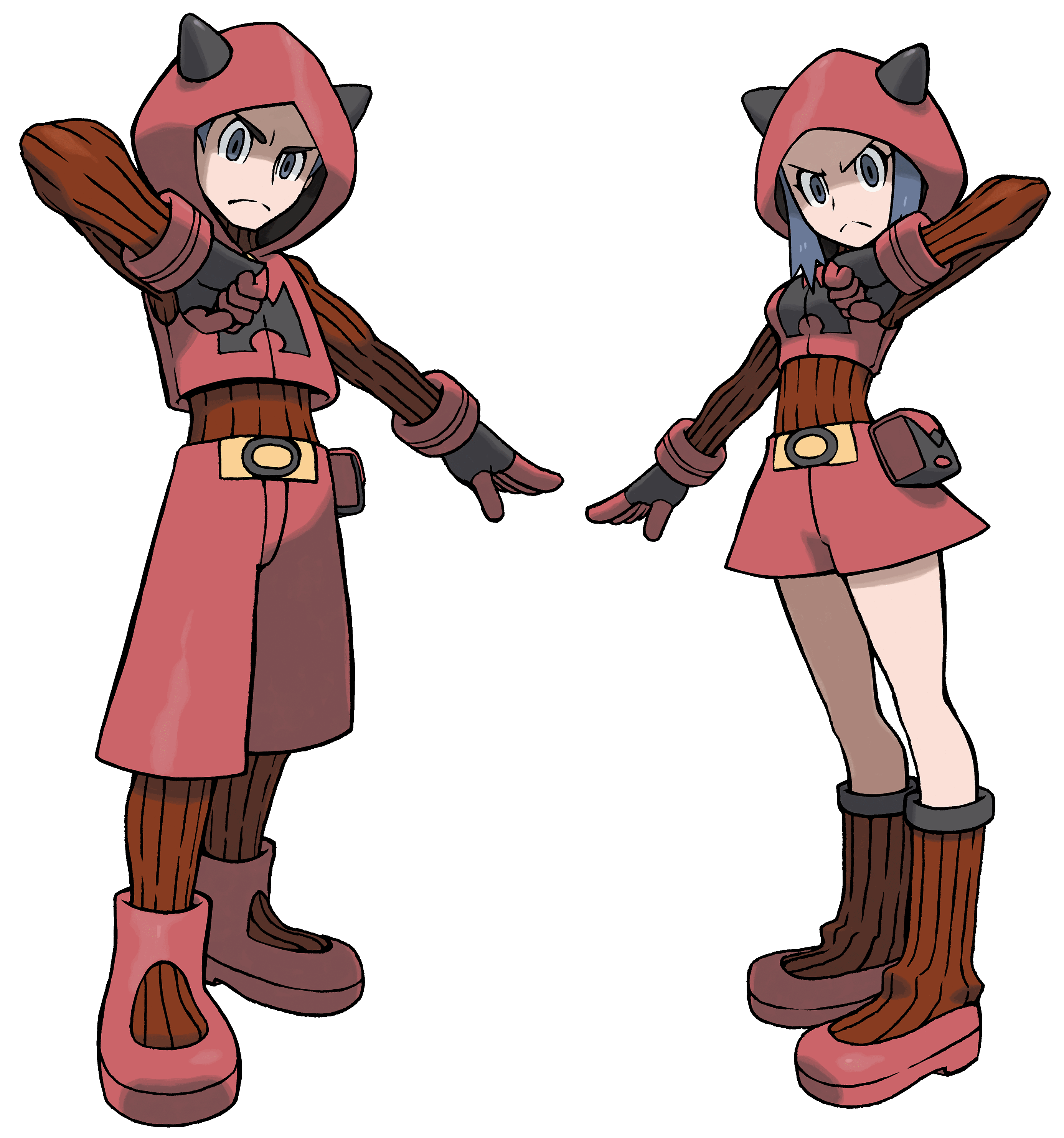 Team Magma-Rüpel
