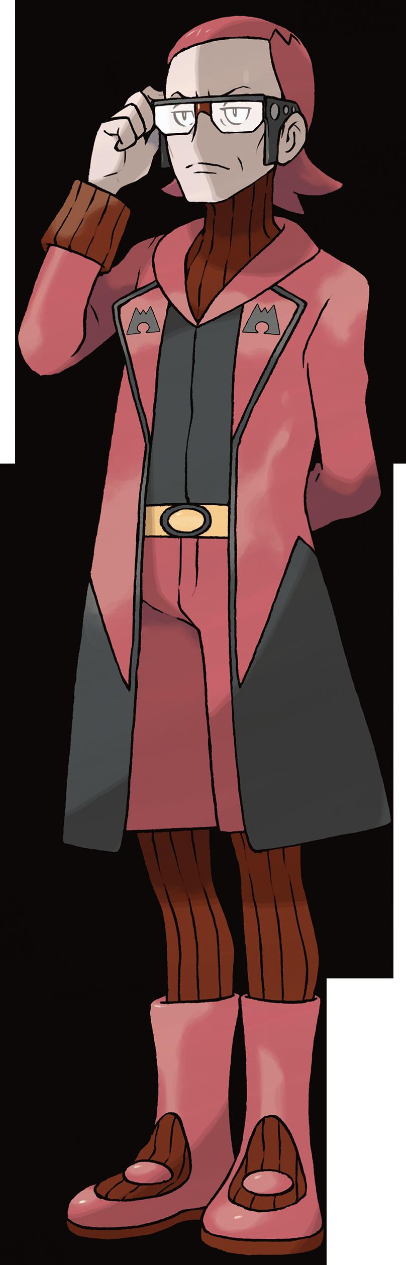 Marc, Boss von Team Magma