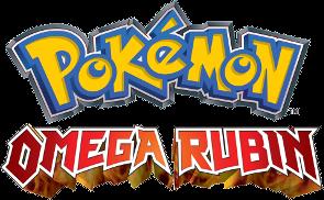 Logo von Pokémon Omega Rubin
