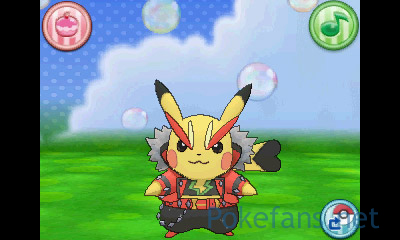 Rocker-Pikachu in PokéMonAmi