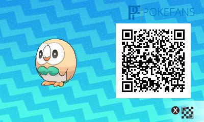 qr-code-sammlung aller pokémon aus dem alola-dex