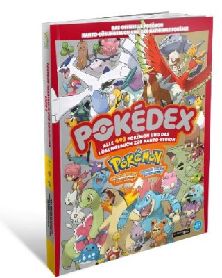 Das offizielle Lösungsbuch zu Pokémon Heartgold/Soulsilver - Band 2 mit Pokédex