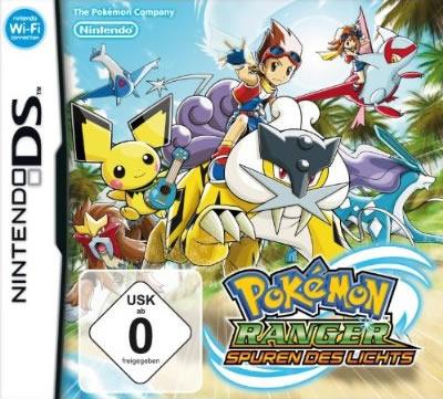 Pokemon Ranger: Spuren des Lichts (Boxart/Cover)