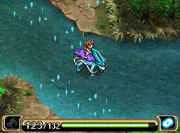 Suicune läuft über das Wasser