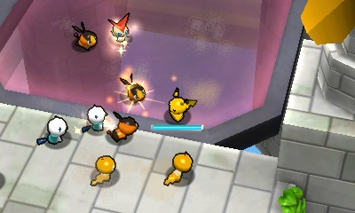 Kampf in Super Pokémon Rumble