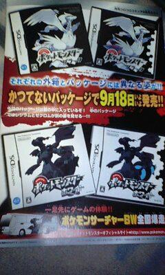 Alternatives Boxart von Pokémon Schwarz und Weiß
