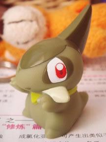 Bandai-Spielfigur eines neuen Pokémon aus den Schwarz/Weiß-Editionen