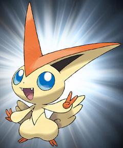 legendäres Pokémon Victini