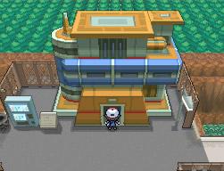 Poképorter-Gebäude