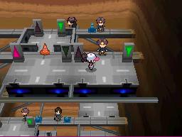 Die Arena in Marea City in Pokémon Schwarz und Weiß