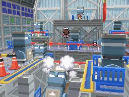 Die Arena in Panaero City in Pokémon Schwarz und Weiß