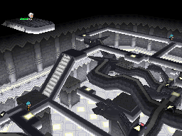 Die Arena in Twindrake City in Pokémon Schwarz und Weiß