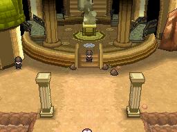 Der erste Raum der Pokémon Liga