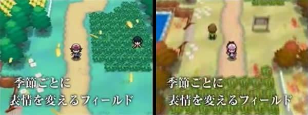Jahreszeiten in Pokémon Schwarz/Weiß