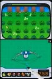 PokéShifter - die Pokémon müssen mit einer Schleuder erwischt werden