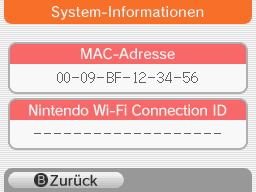 Anzeigen der MAC-Adresse