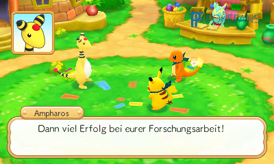 Screenshot aus Pokémon Super Mystery Dungeon