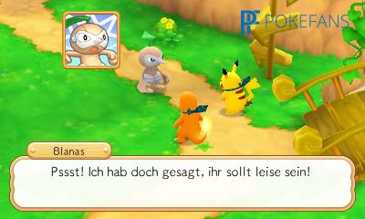 Screenshot aus Pokémon Super Mystery Dungeon