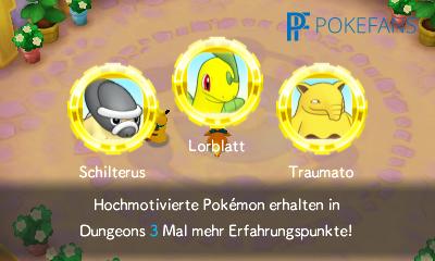 Diese Pokémon bekommen beim nächsten Besuch den Team-Bonus