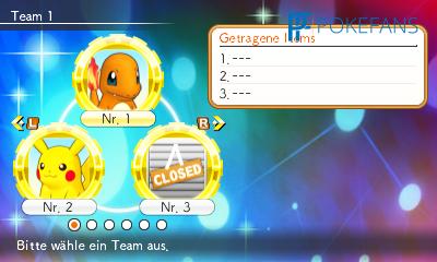 Ein Pokémon ist für dieses Abenteuer gesperrt