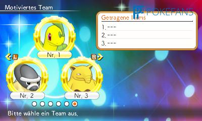 Team-Auswahl
