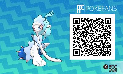 Qr Code Sammlung Aller Pokémon Aus Dem Alola Dex In Ultrasonne Und
