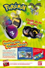 JoJo-Gewinnspiel von Bandai (Plakat)