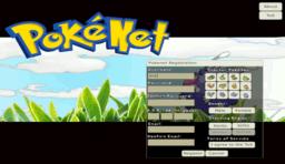 Pokénet-Programm (Screenshot)