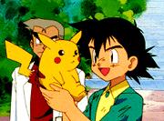 Ausschnitt aus der Pokémon TV-Serie