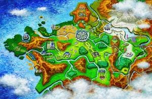 Karte von Kalos