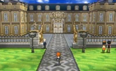 Ein an Versailles erinnerndes Schloss