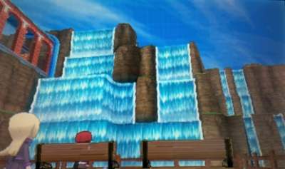 Riesige Wasserfälle