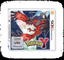 Yveltal | Artwork | Yveltal auf dem Cover von Pokémon Y.