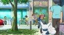 "Flabébé | TV-Serie | Psiaugon, Purmel und Flabébé in ""Pokémon die Serie: XY""."