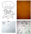 Trombork | Foto | Gesammelte Skizzen von Aurotto basierend auf dem Trailer zum 17. Pokémon-Kinofilm. Zusammenstellung: Pokefans.net