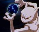 Mewtu | Pokémon-Film | Ausschnitt aus dem 1. Pokémon-Kinofilm, Mewtu im Kampf gegen Mew.