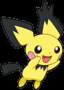 Pichu |  | Das Strubbelohr-Pichu aus Pokemaon: Heart Gold/Soul Silver